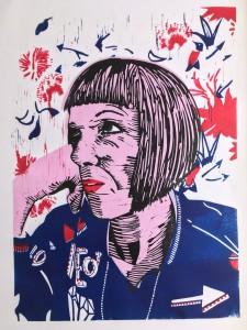 Self Portrait with Bomber Jacket £150 unframed / £300 framed